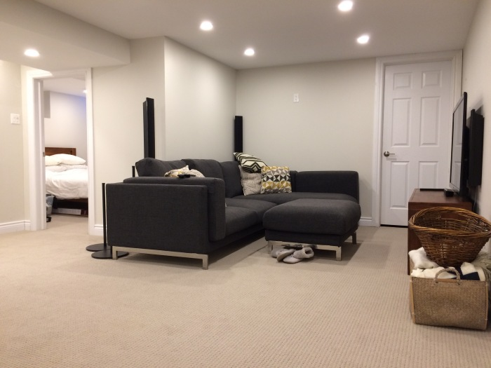 Completion of unfinishedbasement